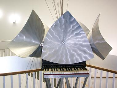 Aluminum Piano (c. 1962)