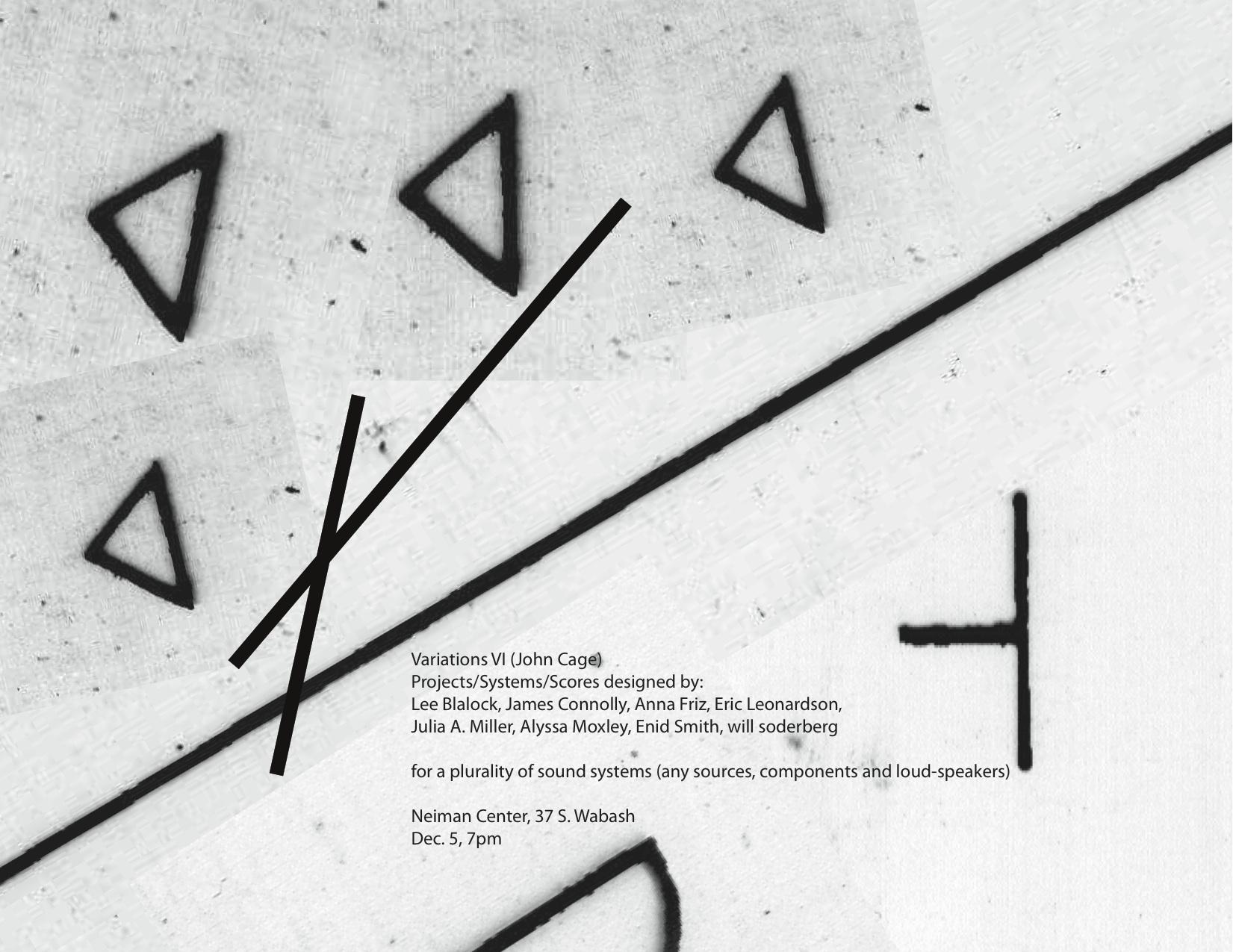 Variations VI poster