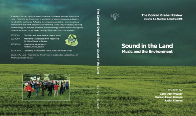 Sound in the Land front & back cover