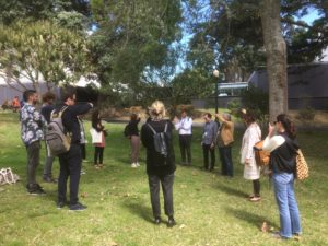 soundwalk workshop listening