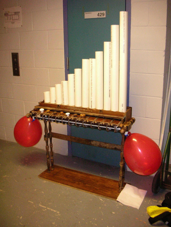 Bubble Organ by Aaron Wendel, 2007