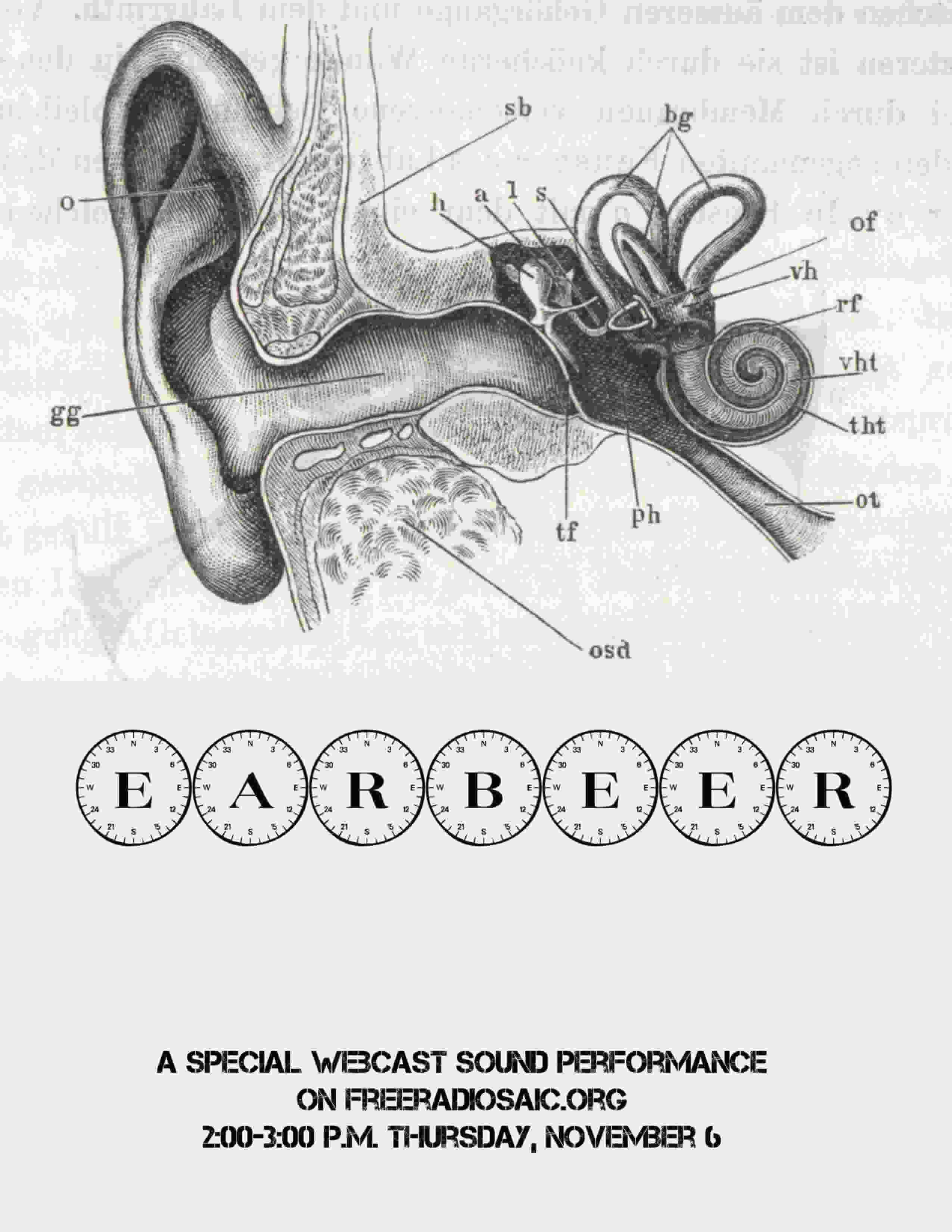 earbeer free radio saic flyer
