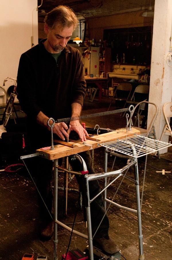 Eric Leonardson with Springboard